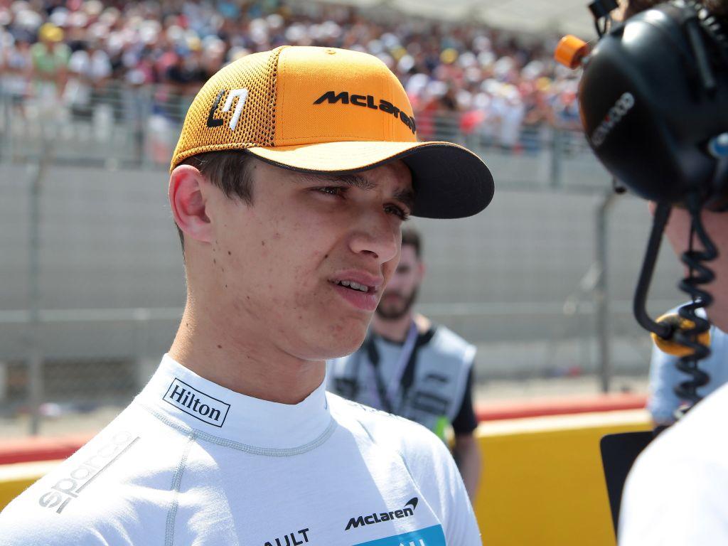 "Lando Norris feels he didn't get the result McLaren ""deserved"" in France."