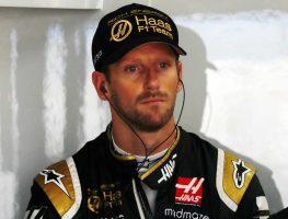 Lap 1 retirement made Grosjean want to punch walls.