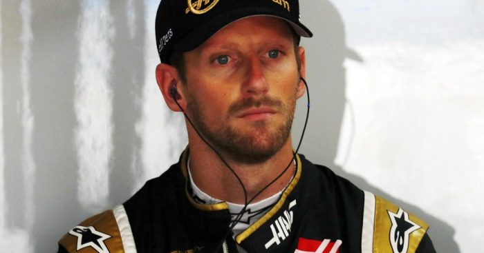 Lap 1 retirement made Grosjean want to punch walls.