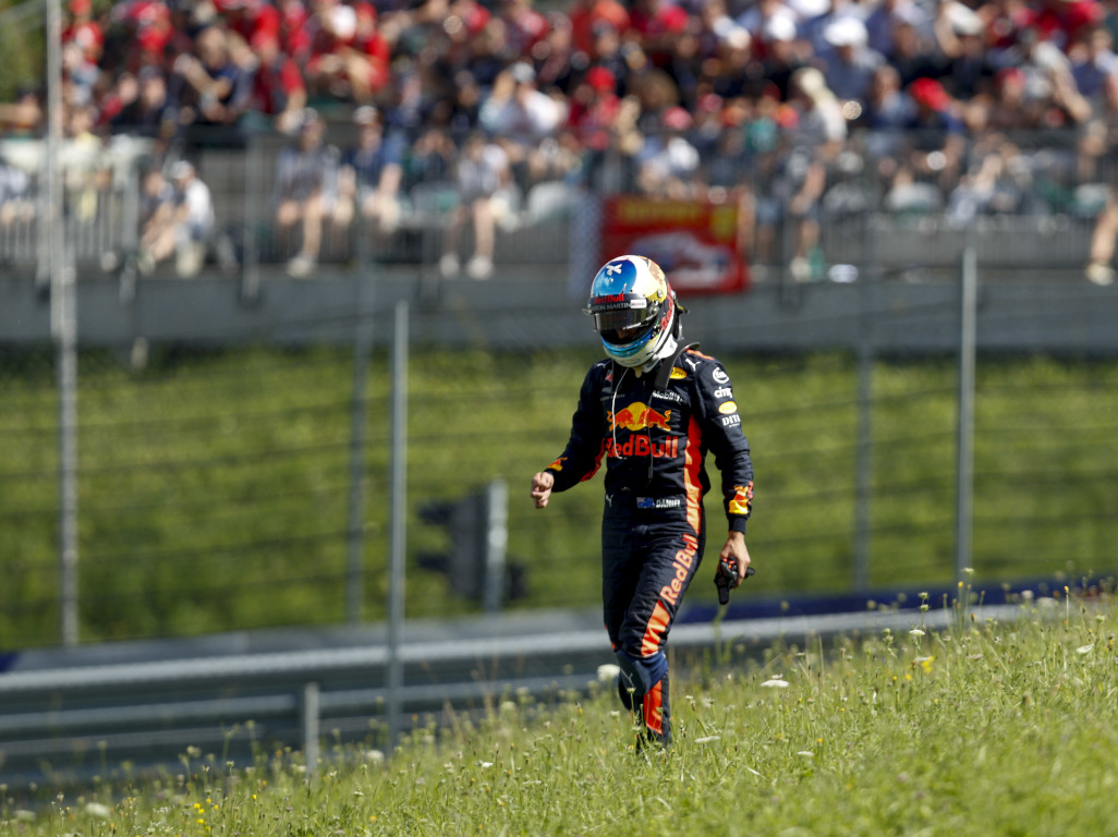 Daniel Ricciardo's final Austrian Grand Prix with Red Bull ended in disaster