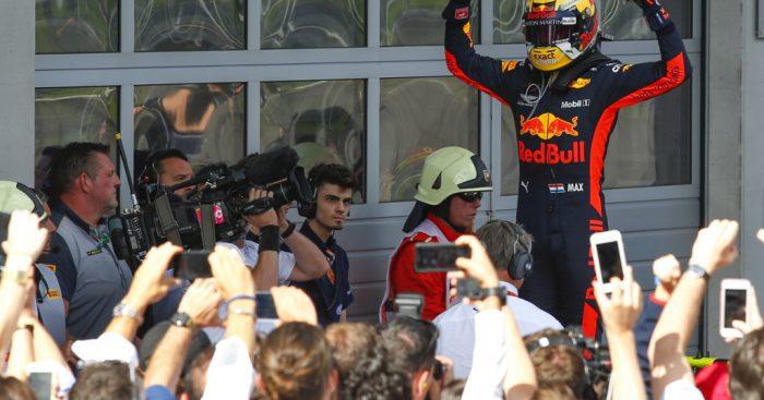 Max Verstappen won Red Bull's home race