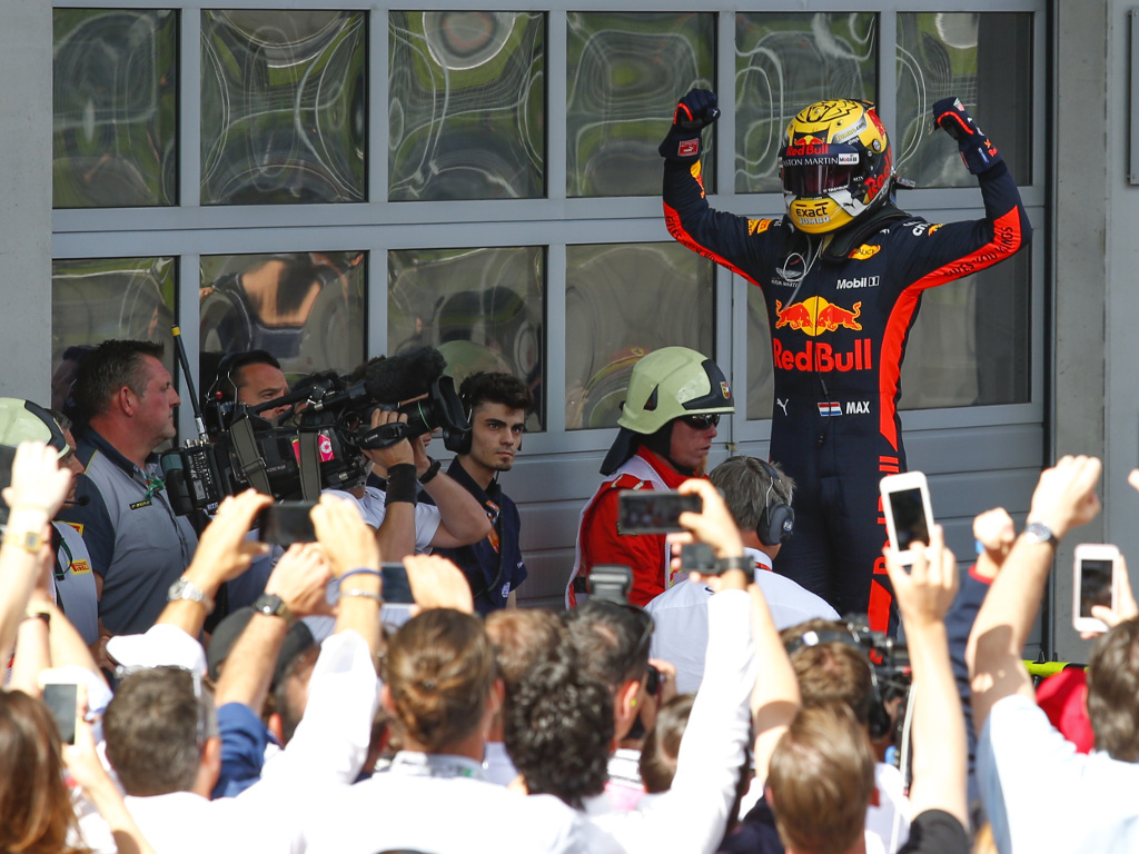 Max Verstappen won the Austrian Grand Prix in 2018