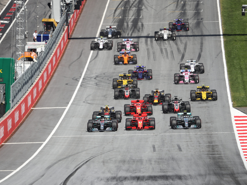 Austrian GP gets underway