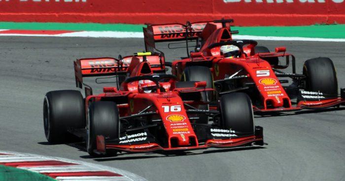 Charles-Leclerc-and-Sebastian-Vettel-Ferrari-PA