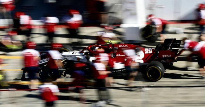 Antonio Giovinazzi: Alfa Romeo fined