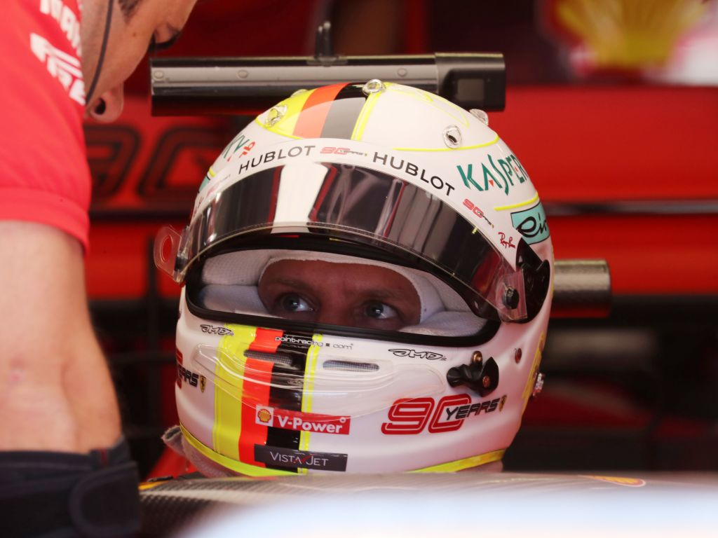 Sebastian Vettel has no blame for anybody after his engine issue in qualifying for the Austrian GP.