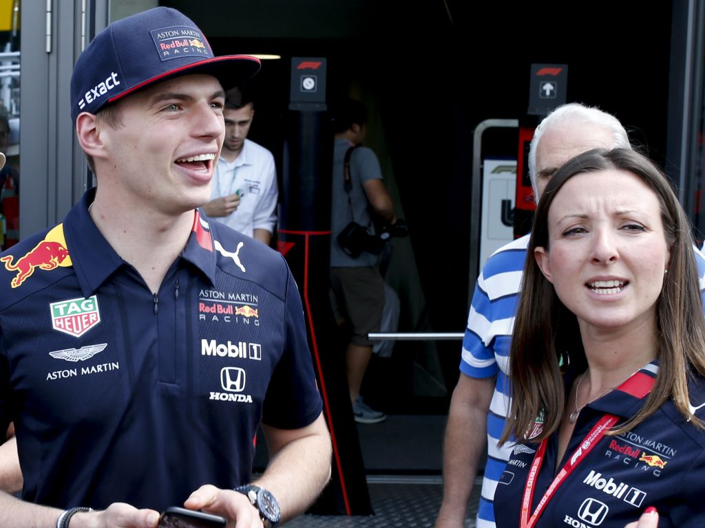 Max Verstappen is delighted to have split the Mercedes in qualifying for the Austrian GP.