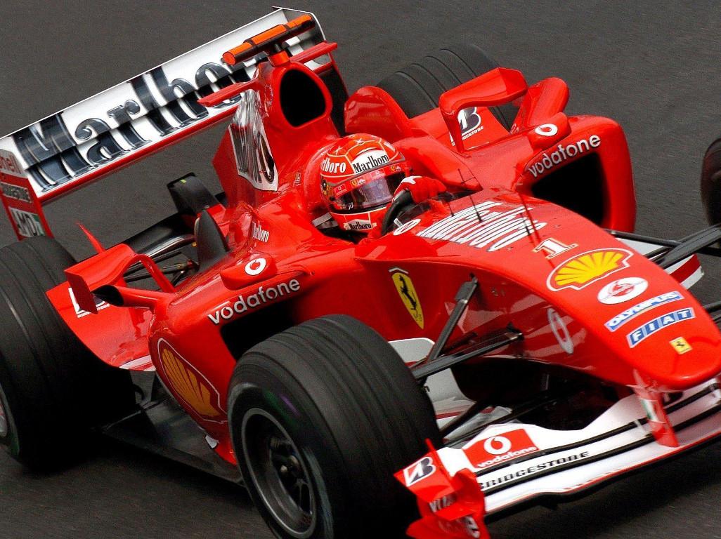 Michael-Schumacher-F2004-Ferrari-PA