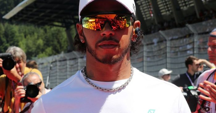 """Mercedes """"just couldn't race"""" in Austria says Lewis Hamilton."""