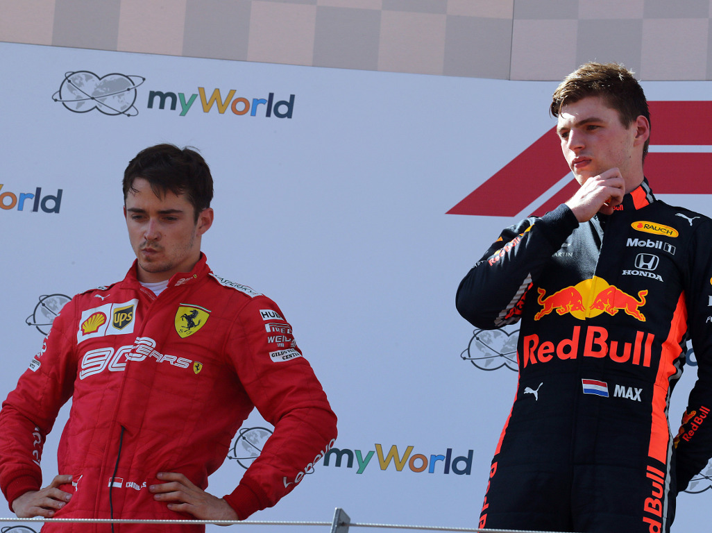 Charles-Leclerc-and-Max-Verstappen-PA