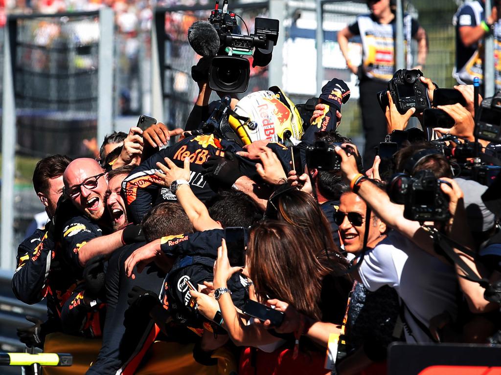 Max-Verstappen-Red-Bull-celebrate-PA