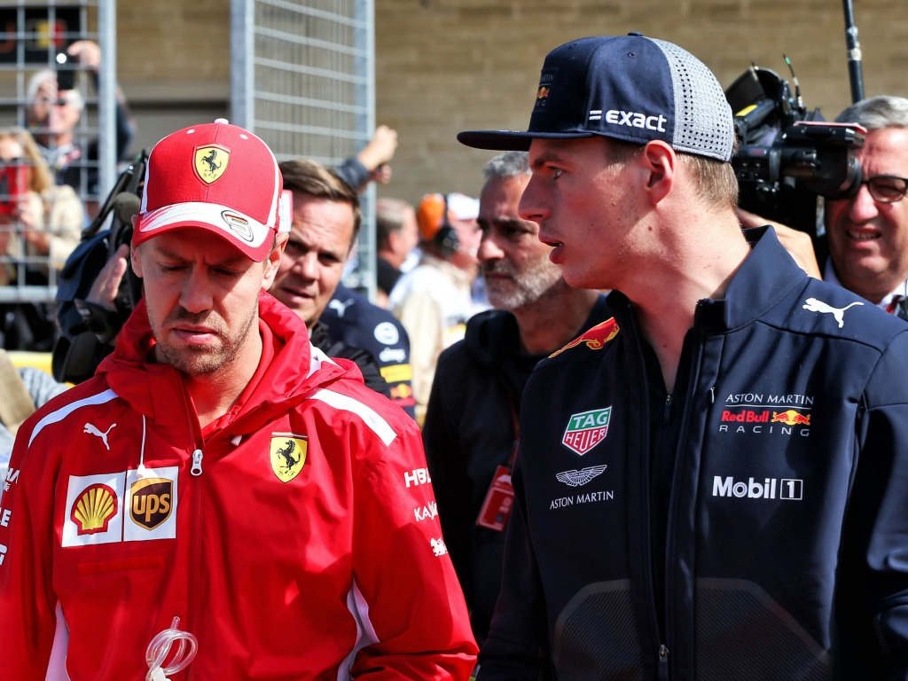 """Ferrari """"certainly not"""" interested in signing Max Verstappen for 2020."""