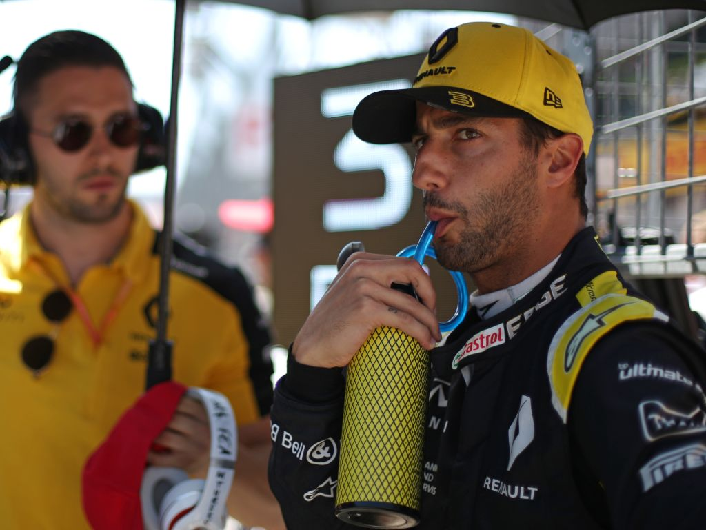 """Daniel Ricciardo fears there may be a """"fundamental"""" issue with the R.S.19."""