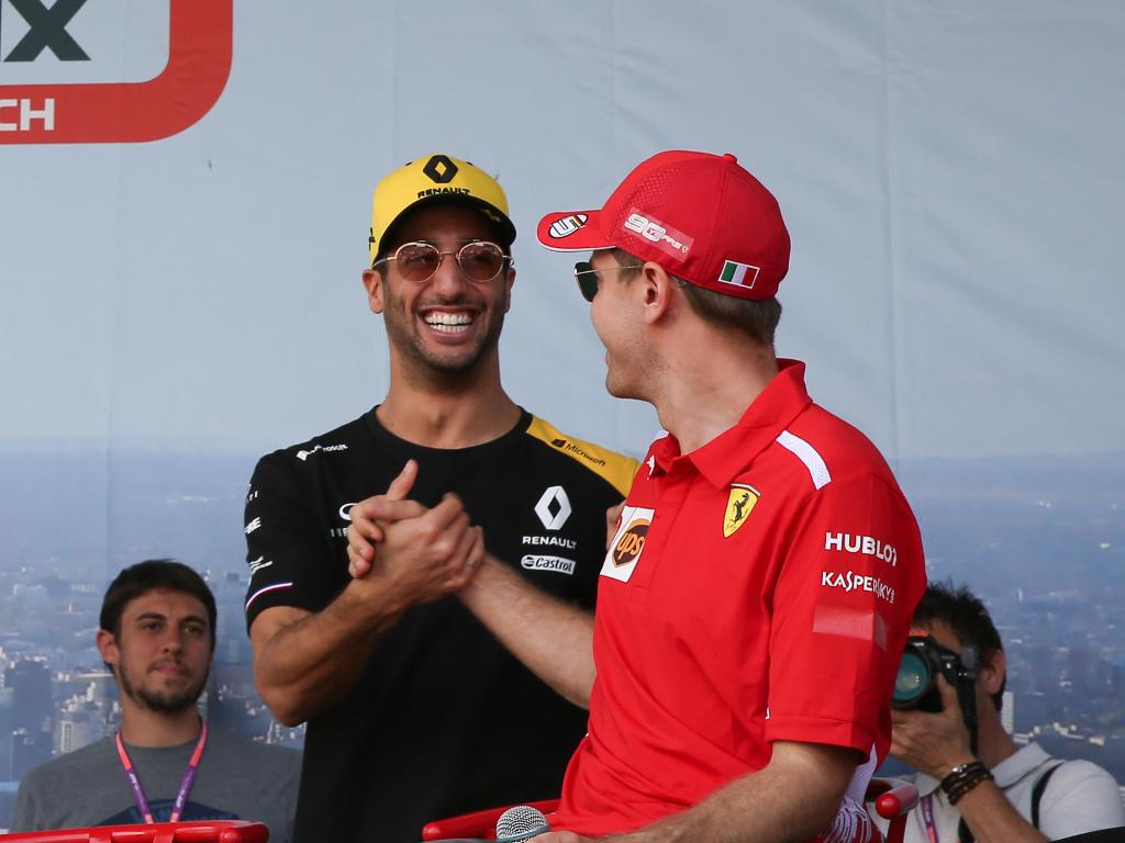 Daniel-Ricciardo-and-Sebastian-Vettel-PA