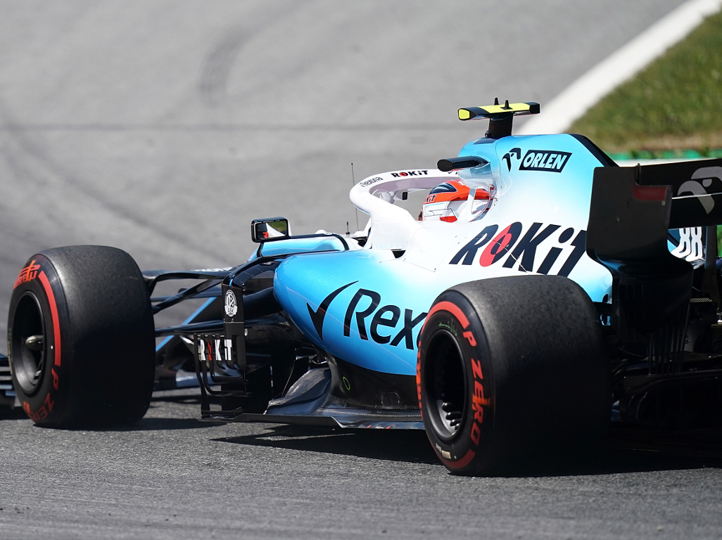 Robert-Kubica-Williams-from-behind-PA