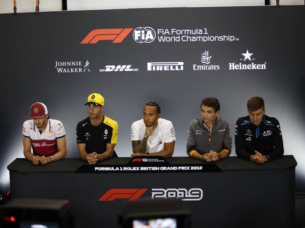 Thursday's FIA driver press conference