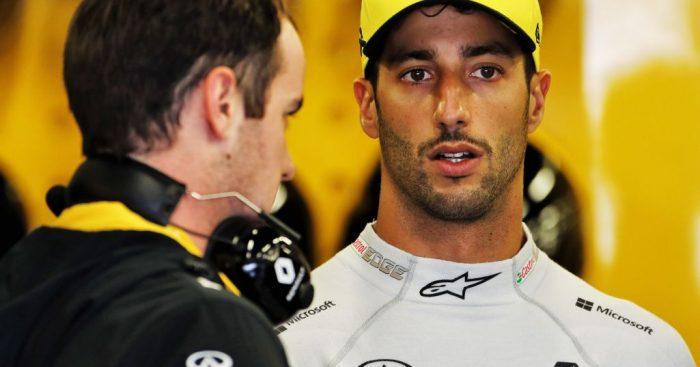 Daniel Ricciardo was surprised to qualify ahead of McLaren at the British Grand Prix.