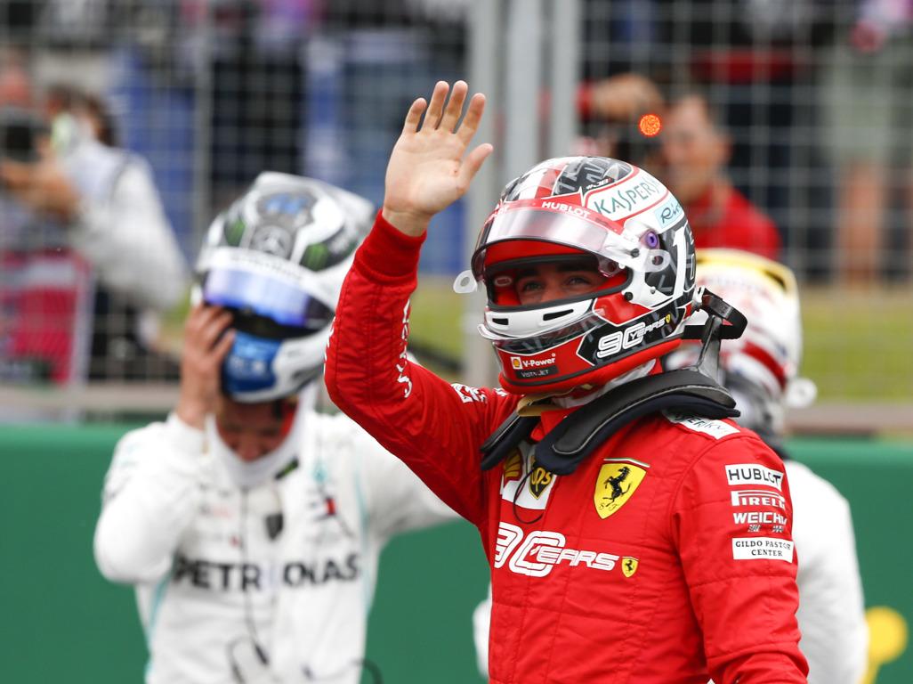 Leclerc thanks Verstappen for overtaking lessons