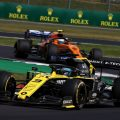 Daniel Ricciardo was frustrated that he couldn't take P6 at Silverstone from Carlos Sainz.
