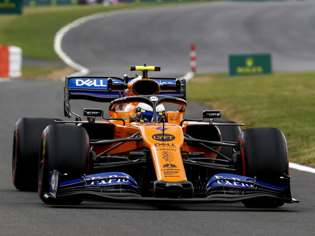 "Lando Norris says a British GP without fans would be ""weird""."
