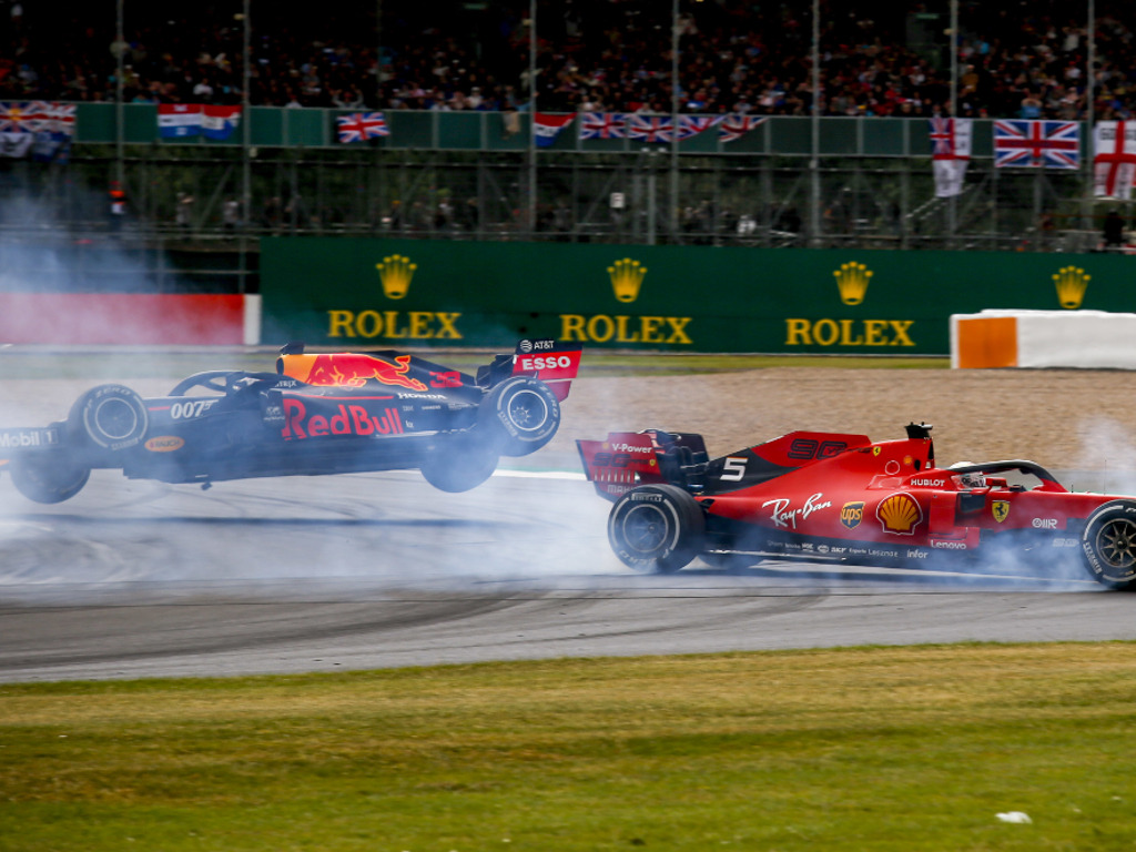 Sebastian-Vettel-and-Max-Verstappen-Silverstone-British-GP-crash-PA