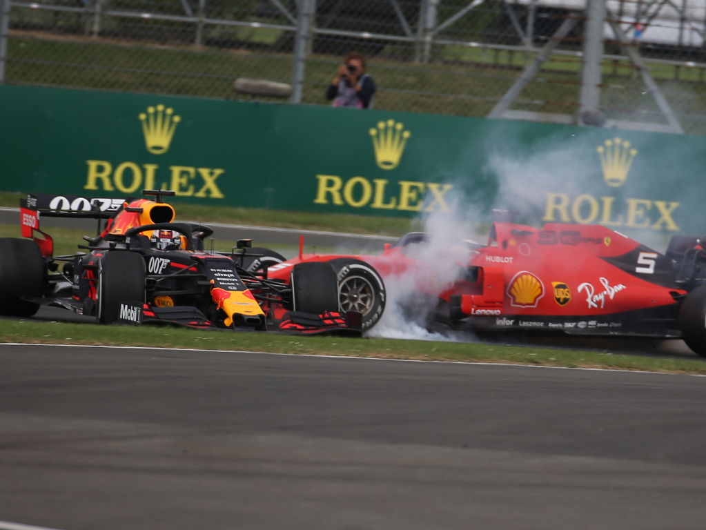 Max-Verstappen-and-Sebastian-Vettel-British-GP-crash-PA