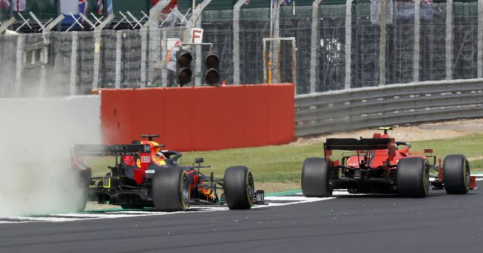 Charles-Leclerc-and-Max-Verstappen-British-GP-PA