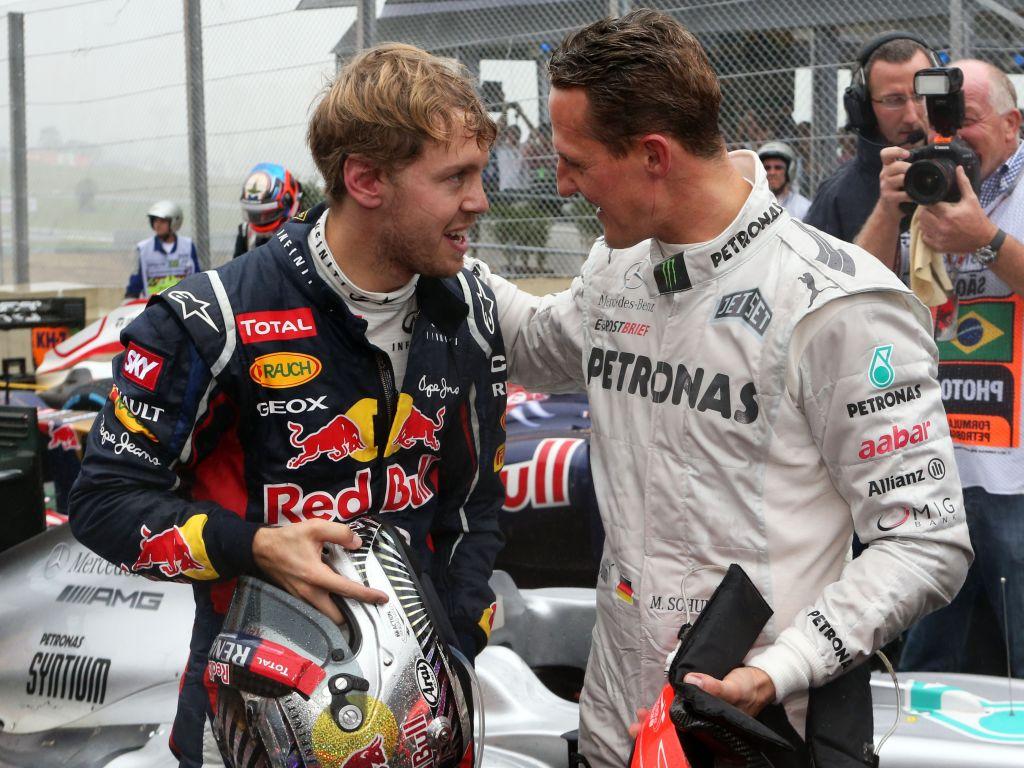 Sebastian Vettel Michael Schumacher
