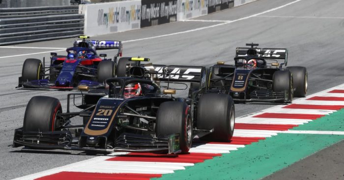 Haas to run split-aero specs at the German GP.