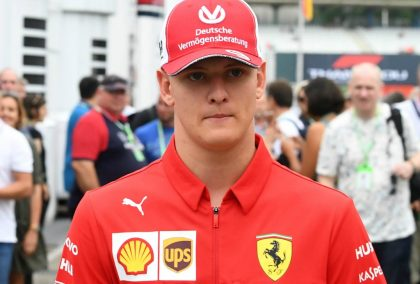 """Mick Schumacher says """"only time will tell"""" when he will make the step up to F1"""
