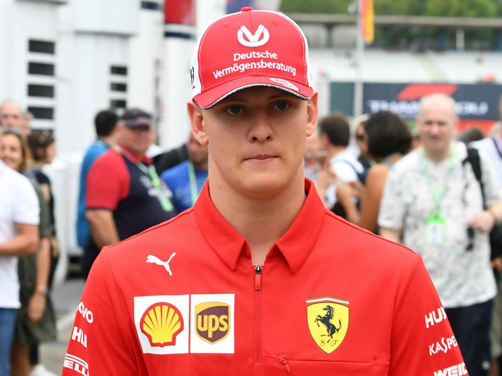 "Mick Schumacher says ""only time will tell"" when he will make the step up to F1"