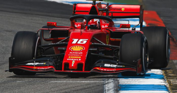 Image result for charles leclerc 2019 track
