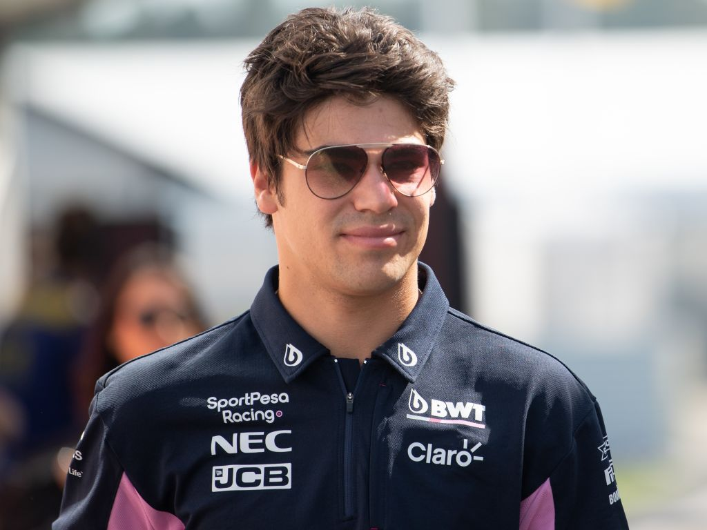 Lance Stroll raises £11,000 for Breast Cancer Care with P4 in Hockenheim.