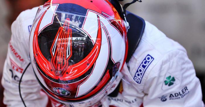 Kimi Raikkonen dabs his way to P5 on the grid for the German Grand Prix.