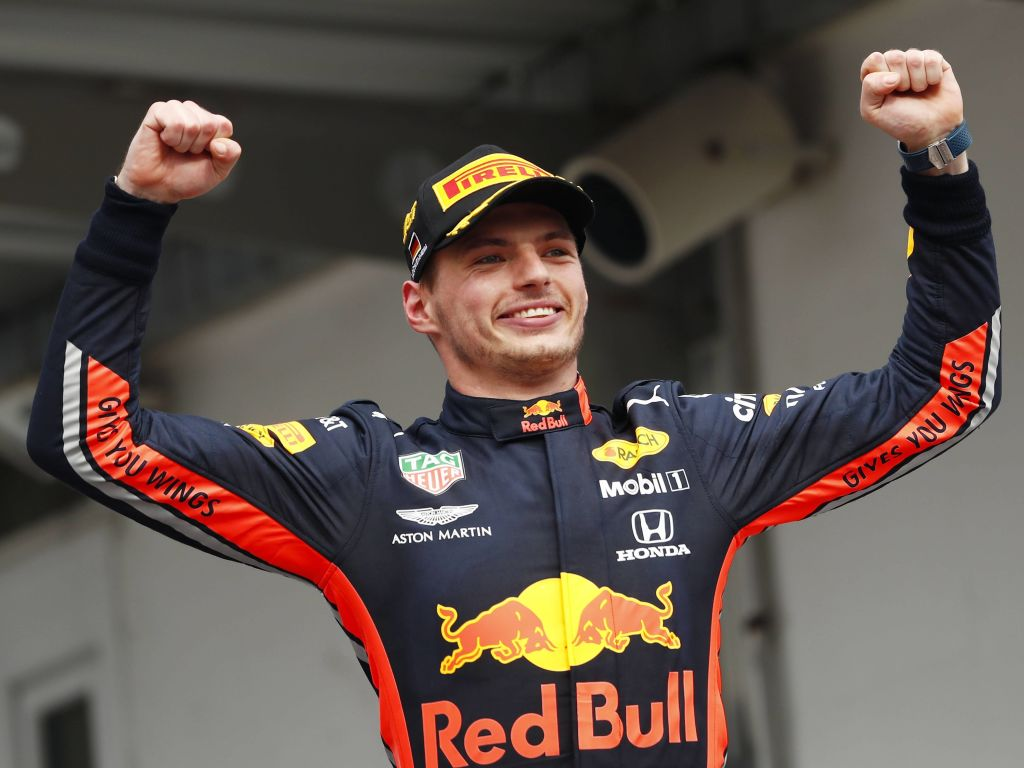 Max Verstappen joked that his 360 spin during the German Grand Prix was for the crowd.