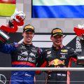 Daniil-Kvyat-and-Max-Verstappen-Germany-podium-PA