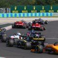 Mercedes leads Ferrari at the Hungaroring