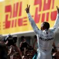I'm not going anywhere anytime soon, says Lewis Hamilton.