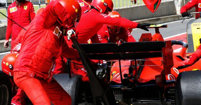 Charles-Leclerc-Ferrari-pit-stop-PA
