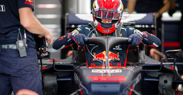 Pierre-Gasly-Red-Bull-garage-PA