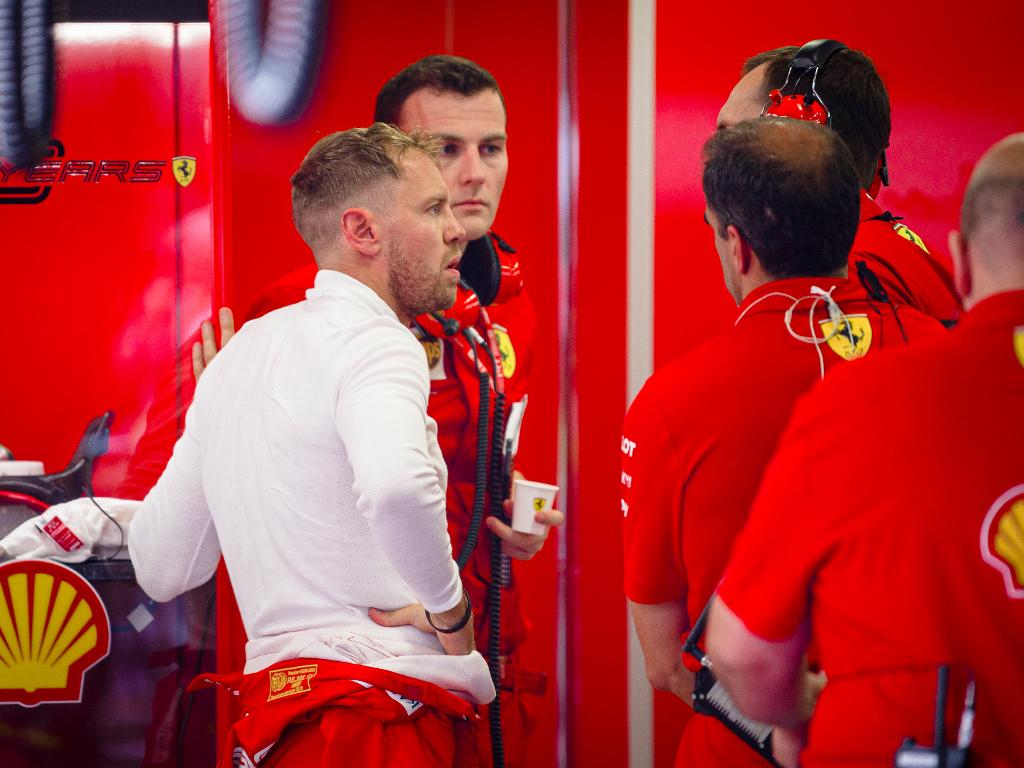 Sebastian Vettel 'too chicken' at damp Hungaroring