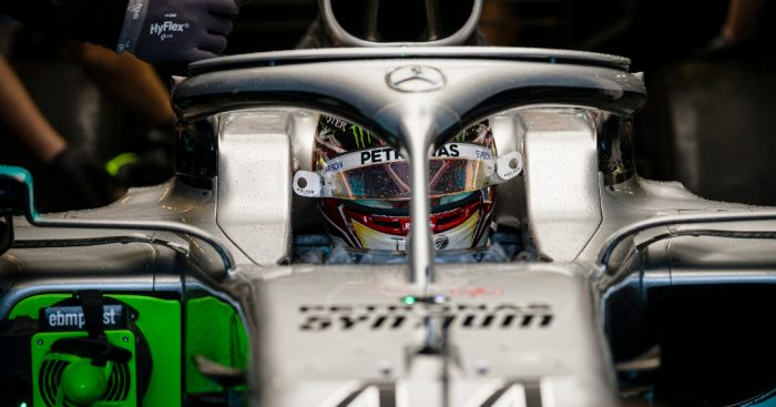 FP3: Hamilton on top in a 'snowy' final practice