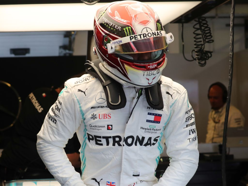 """Lewis Hamilton is """"down for a fight"""" after qualifying behind Max Verstappen and Valtteri Bottas in Hungary."""