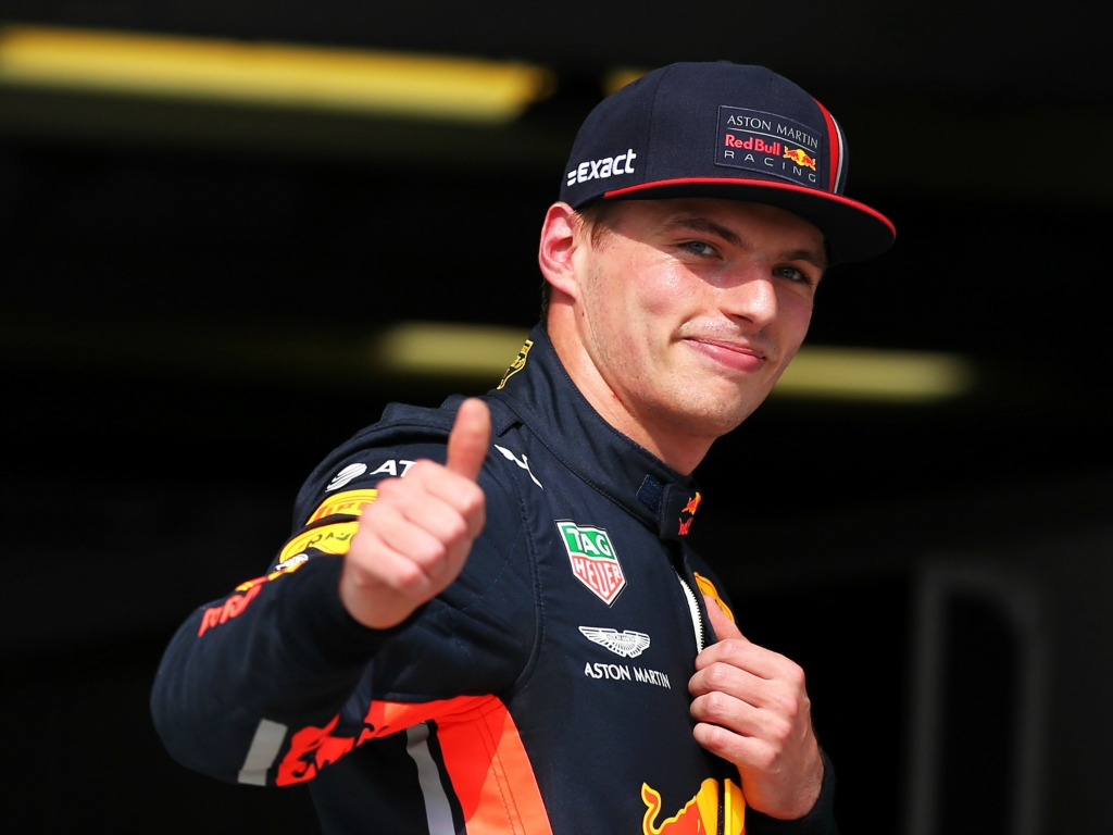 Max Verstappen with Red Bull for F1 2021