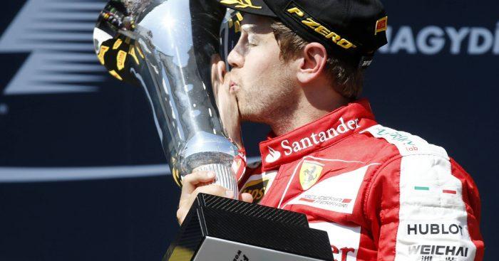 Sebastian Vettel unhappy with F1's 'super-boring' trophies