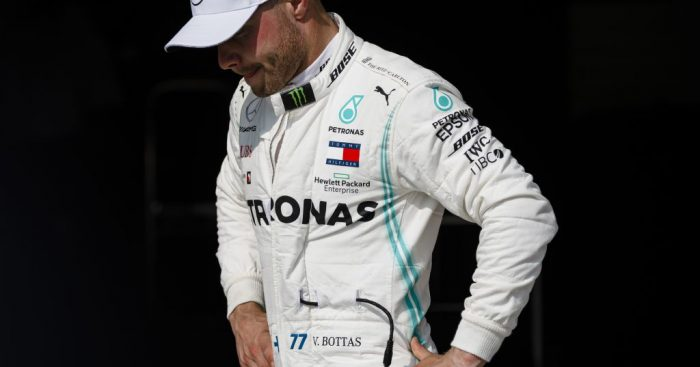 Bottas takes blame for falling behind Hamilton