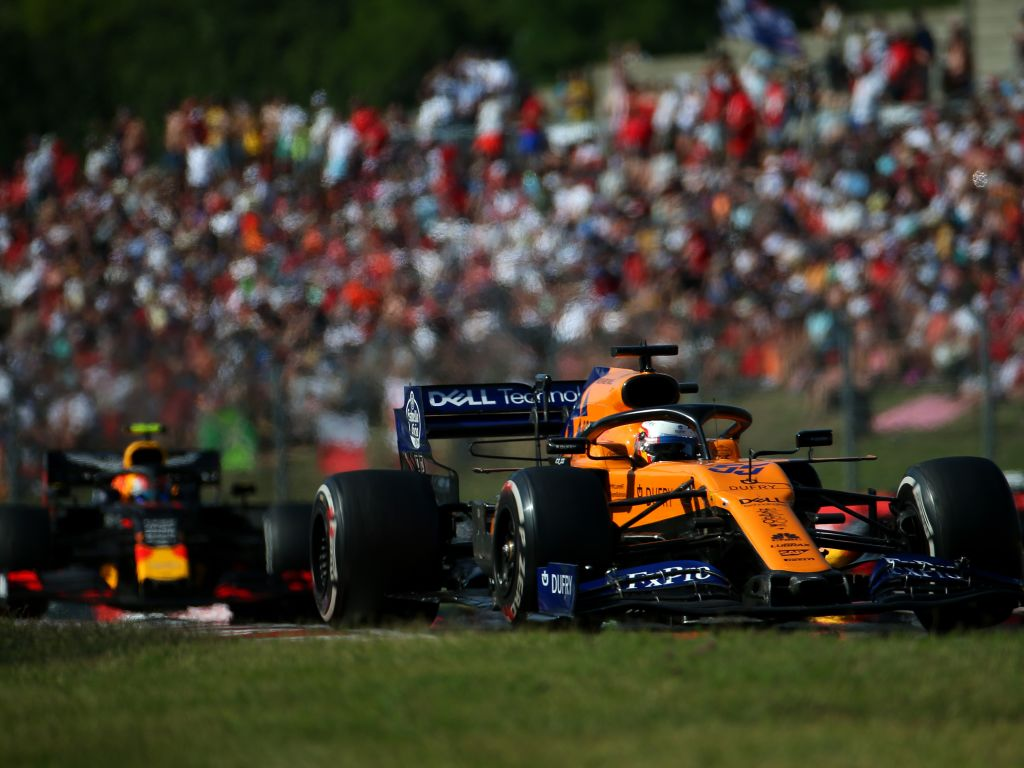 Carlos Sainz was delighted to finish ahead of a Red Bull and a Mercedes at the Hungarian GP.