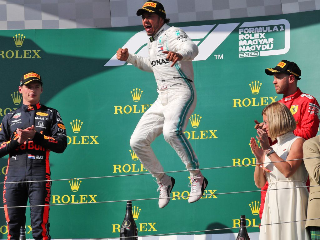Lewis Hamilton says he won't be retiring from F1 anytime soon.