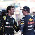 Max Verstappen says he misses having a Daniel Ricciardo-level team-mate.