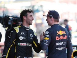 Daniel Ricciardo asked Max Verstappen what his plans were as the Australian GP fell into chaos.
